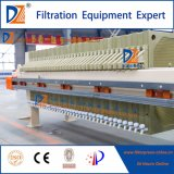 Industrie-Abwasserbehandlung Memrane Filterpresse der Oberseite-eine