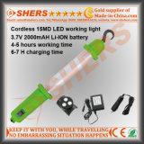 Inalámbrico 15 Luz de trabajo del LED SMD recargable