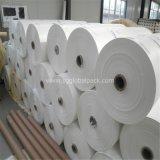 Tissu plat tissé par pp élevé de quantité pour le géotextile