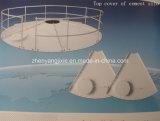 100 tipo empernado Mt silo de cemento para la planta de mezcla concreta