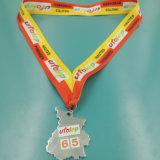 Kundenspezifisches Regional Gold und Silver Sport Medal mit Ribbon (MSS-107)