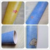 子供のためのスリップ防止耐火性の環境に優しい魔法PVCフロアーリング