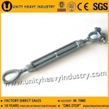 Nous Type Drop Forged Turnbuckle Stainless Steel Eye & Eye Turnbuckle