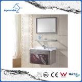 Europäische Art Fashionble moderne Edelstahl-Badezimmer-Möbel