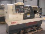 Cnc-horizontale Drehbank bearbeitet das Rohr, das Drehbank Ck6140b verlegt
