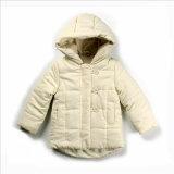 子供の着ることのための長い袖が付いている綿によってパッドを入れられるジャケット