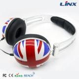 새로운 상표 다채로운 도매 머리띠 헤드폰