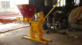 Manuel enclenchant la machine de fabrication de brique creuse de machine de brique d'argile