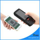 Drahtloses Andorid Zahlungs-Handterminal mit Barcode-Scanner