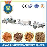 linha de produção cheia alimento de cão que faz a máquina