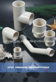 Feito em China Certified para Hot e Cold Water Plastic Fitting Manufature ASTM D2846 Era CPVC Fitting