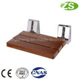 Soporte de aluminio de madera de ducha plegable asiento de la silla Equipo Médico