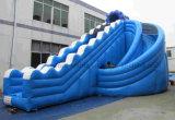 اللون الأزرق [نول-دسند] قابل للنفخ صناعيّة ماء منزلق, علبيّة [قونليتي] قابل للنفخ منزلق أجر