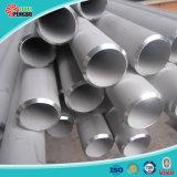 lista inoxidable soldada pulida 201 304 del tubo de acero para la decoración