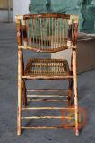 Sillas de plegamiento de bambú Todo-Naturales sólidas