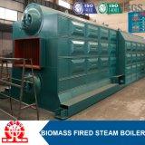 Doppio caldaia a vapore infornata della biomassa dei timpani legno