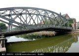Puente durable de la estructura de acero de la producción