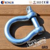 European Type Bow Galvanized Shackle