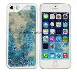 Concevoir le boîtier pc en fonction du client de sable mouvant de couverture de téléphone mobile pour le cas liquide de téléphone cellulaire de sable de l'iPhone 5/6/6s