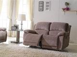 El sofá de la sala de estar con el sofá moderno del cuero genuino fijó (897)