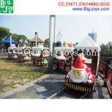 Поезд рождества занятности, электрический поезд Santa Claus для сбывания (BJ-ET11)