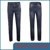 Джинсыы джинсовой ткани тонкие тощие для людей (JC3077)