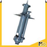 La verticale centrifuge submergent la grande pompe solide de boue