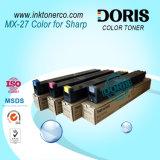 Toner Mx2300n Mx2700n de la copiadora del color Mx27 para el sostenido
