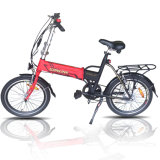 250W Brushless Motor 20 Inch Folding Lithium Electric Bike