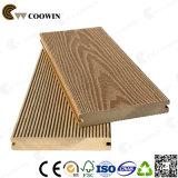 Decking de madeira artificial de Eco do assoalho Prefab do sólido WPC