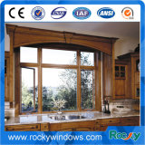 Grün, schwarz, Wihte, hölzerne Aluminiumzubehör-schiebendes Fenster-Befestigungs-Aluminium-Türen