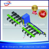 Structure métallique traitant la machine de découpage Spécial-Shaped universelle nécessaire de tube et de plaque