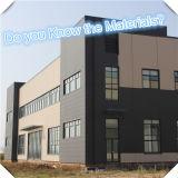 Edificio ligero prefabricado de la estructura del marco de acero de la fábrica