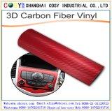 Vinile supremo della fibra del carbonio dell'involucro 3D/4D/5D dell'automobile per la decorazione