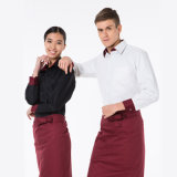Chef/Restaurant Uniformsのための卸し売り中国Latest Designs Western日本のCotton Fabric
