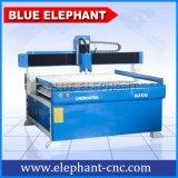 Ele 1212 máquinas caseiros do router do CNC, mobília de madeira que faz a máquina para o alumínio