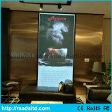 Ultima casella chiara di pubblicità sottile della visualizzazione del LED