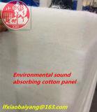 Шерсти одеяла изоляции волокна полиэфира для панели потолка панели стены акустической панели школы