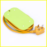 Zoccolo multifunzionale portatile verde del regalo del USB di modo piccolo