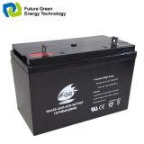 batterie d'accumulateurs d'acide de plomb solaire de pouvoir du cycle 12V65ah profond terminal avant