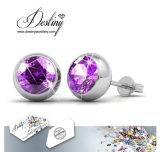 Het Kristal van de Juwelen van het lot van Swarovski 7 Dagen om Oorringen
