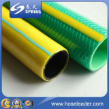 PVC 플라스틱 물 섬유 땋는 정원 호스