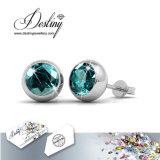 Het Kristal van de Juwelen van het lot van Swarovski de Oorringen van de Maan van 7 Dagen