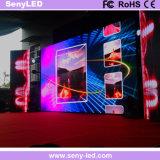 Visualización de LED video de fundición a presión a troquel del panel de la pantalla P2.5 para el alquiler de la etapa