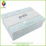 Коробка косметического бумажного подарка красотки упаковывая