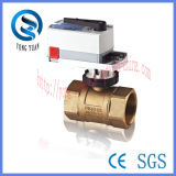 Válvula de bola Proporcional Integral motorizado de cinco sets (DN-32)