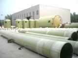 Tubo de água de mar de fibra de vidro para desalação de água do mar