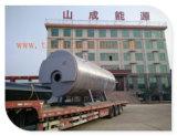 Zugelassener Durchlauf-Öl-Gas2 Tonnen-Dampfkessel des Standard-3