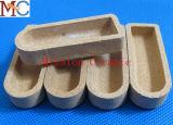 Crogiolo di ceramica dell'allumina resistente all'uso Al2O3
