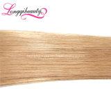 Оптовое дешевое польностью нижнее большое часть волос Remy прямо белокурое